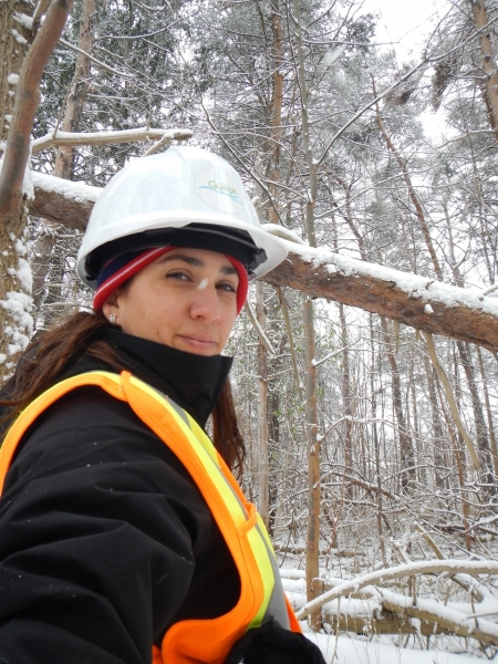 Timea Filer | Technicienne de terrain en foresterie urbaine