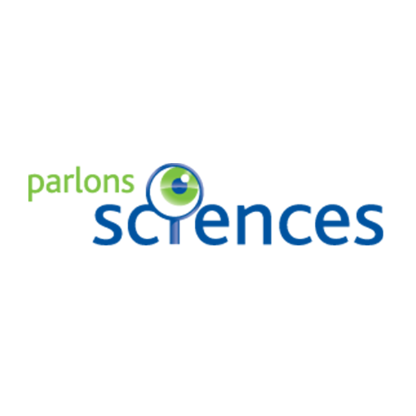 Parlons science logo
